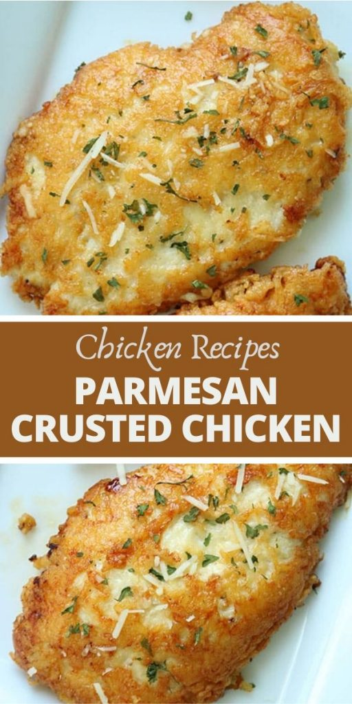 This Parmesan Crusted Chicken Recipe is so Good! (1)