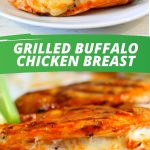 Delicious Grilled Buffalo Chicken Breast_